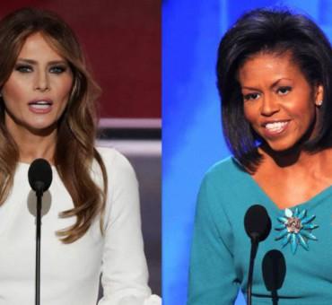 Melania Trump copia a Michelle Obama