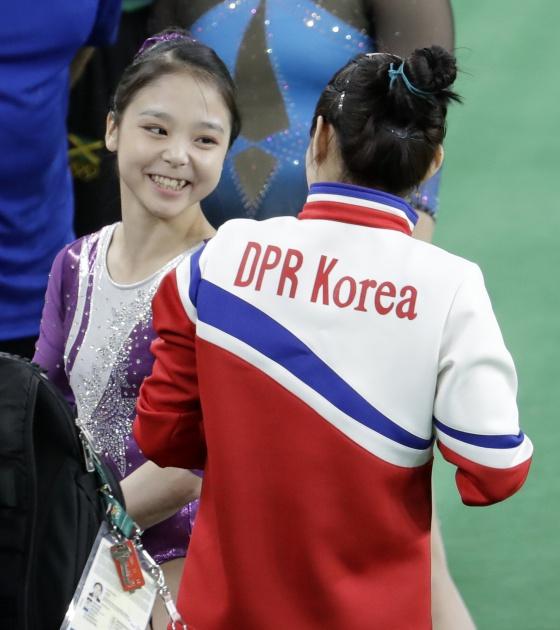 Espíritu olímpico. Para Lee Eun-ju y Hong Un Jong no hay guerra fría.