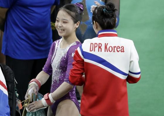 Lee Eun-Ju y Hong Un Jong. El deporte más allá de las fronteras