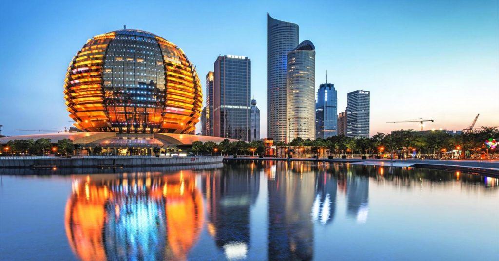 Hotel InterContinental en la ciudad de Hangzhou, sede dek G20.