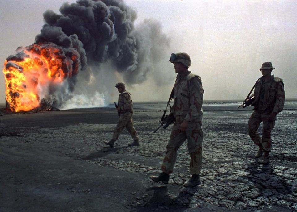 Tras la Guerra del Golfo, Bin Laden pasó de aliado a enemigo mortal.