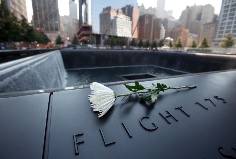 Memorial de las víctimas del ataque a las Torres Gemelas.