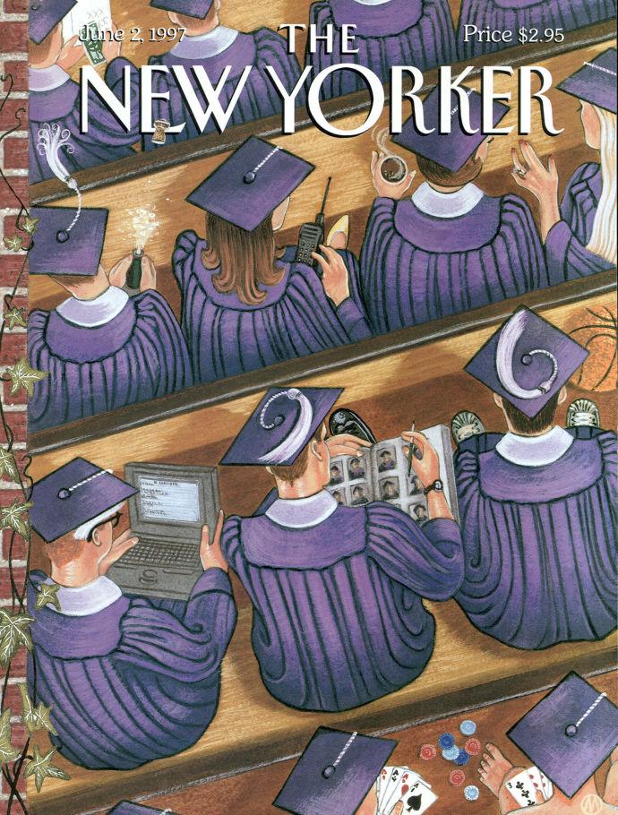 """Graduation,"" by M. Scott Miller, June 2, 1997."