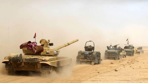 Fuerzas iraquíes avanzan sobre Mosul, principal enclave de ISIS en Irak.