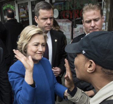 Hillary rumbo a la Casa Blanca