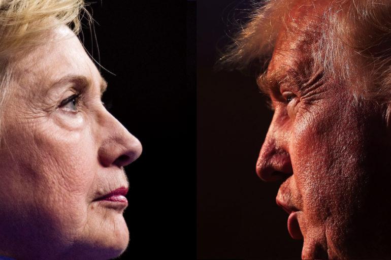 Menos en Rusia, Clinton vence a Trump en todo el mundo