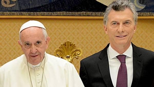 Francisco y Mauricio. Vaticano, 15 de octubre de 2016.