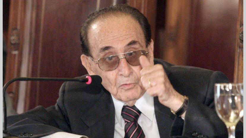 Carlos Fayt, ex juez de la Corte.