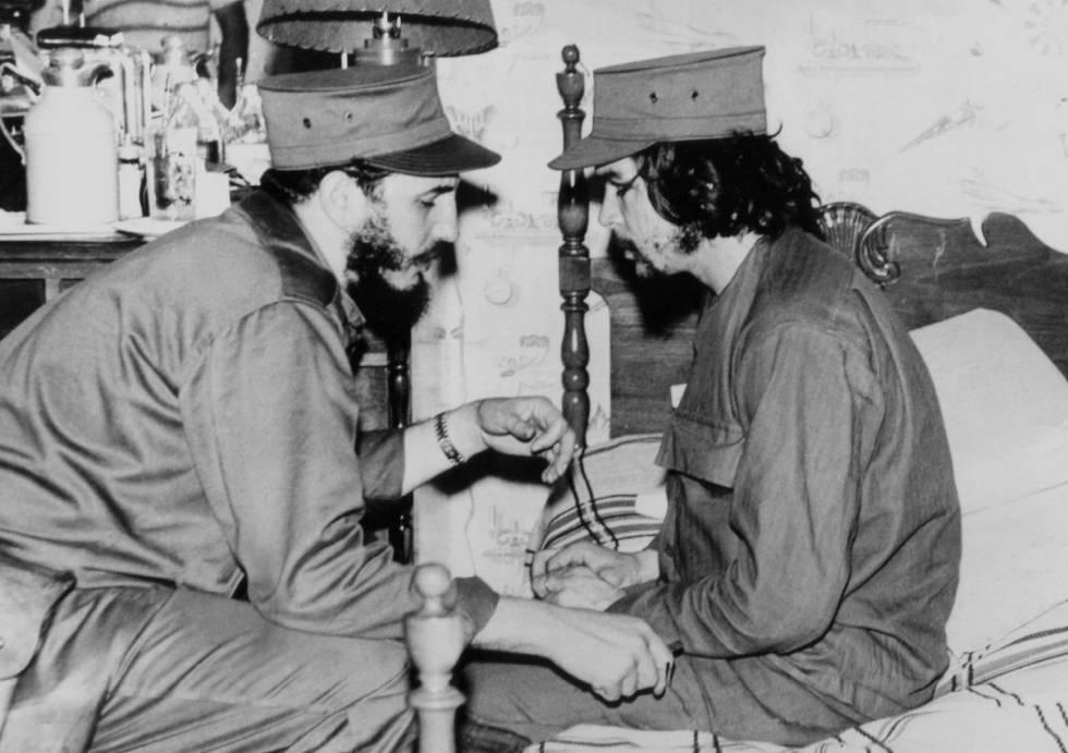 Fidel y el Che. La Habana, 1959.