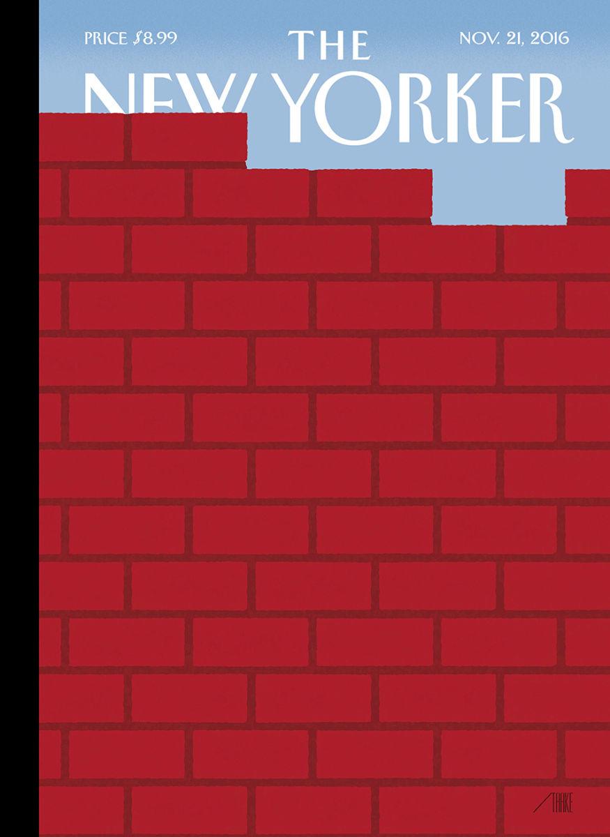 La victoria de Trump, en la perspectiva de New Yorker.