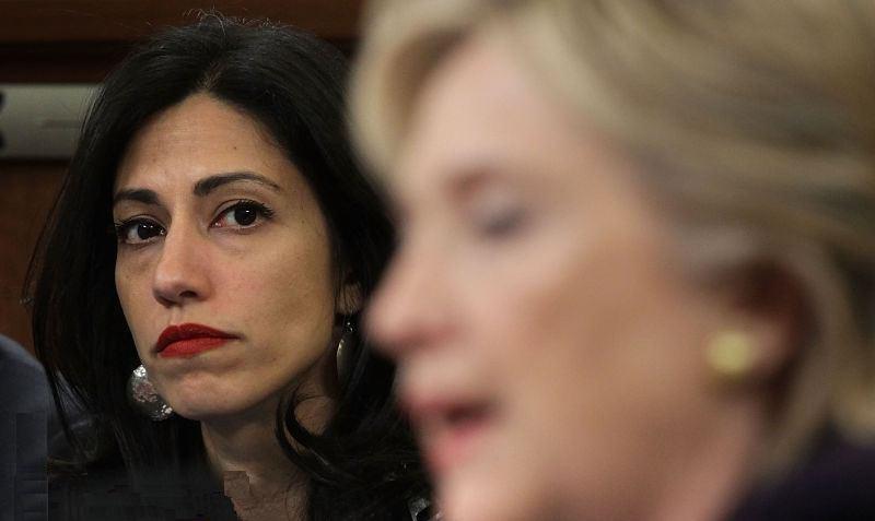 Huma Abedin, asesora y amiga personal de Hillary.