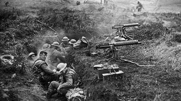 Trincheras en la Primera Guerra Mundial. La muerte segura.