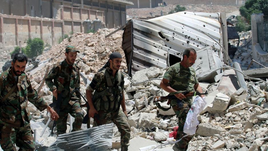 Tropas leales al régimen sirio avanzan sobre Aleppo
