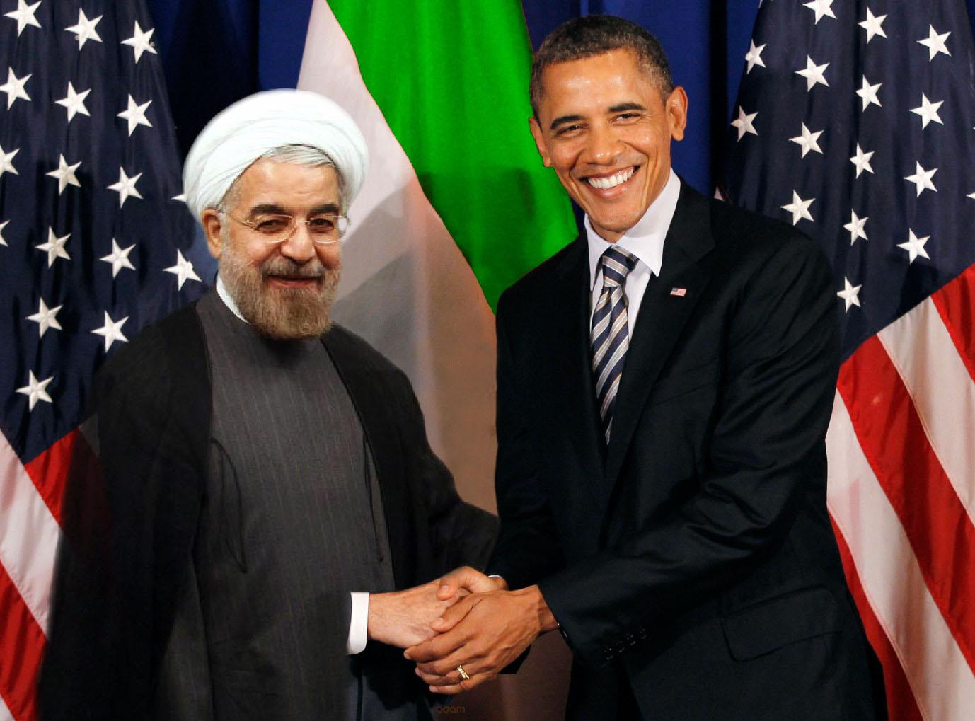 Hasán Rouhaní, presidente iraní, y Obama