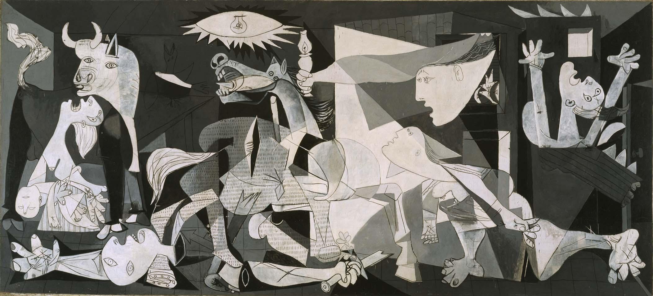 Guernica, obra histórica de Pablo Picasso