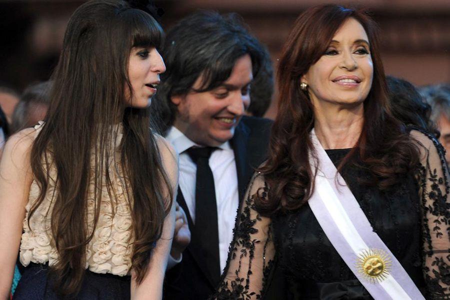 Florencia, Máximo y Cristina. Principales imputados en la causa Los Sauces