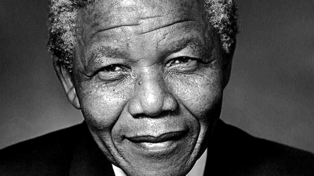 Nelson Mandela, presidente de Sudáfrica