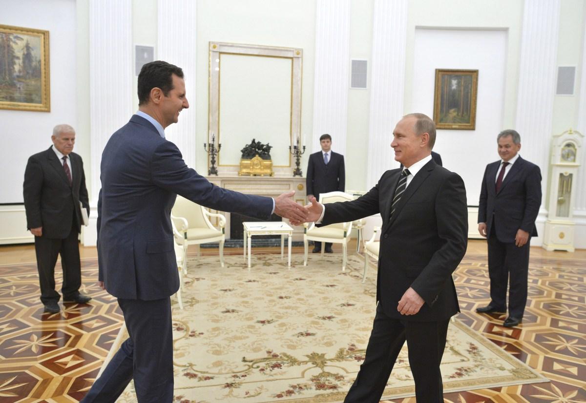 Cumbre entre Putin y Assad. Socios en Siria y en Medio Oriente.