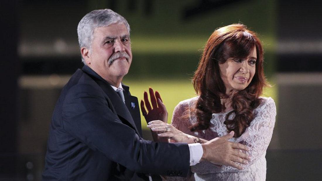 De Vido y Cristina: compartieron el poder y las decisiones sobre  los fondos públicos.
