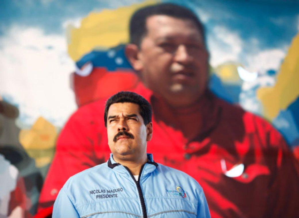 Nicolás Maduro, el  simple heredero de Hugo Chávez.