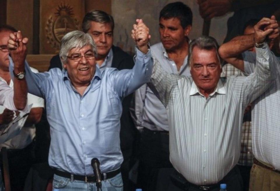 Moyano y Barrionuevo: socios contra Mauricio Macri y la justicia federal